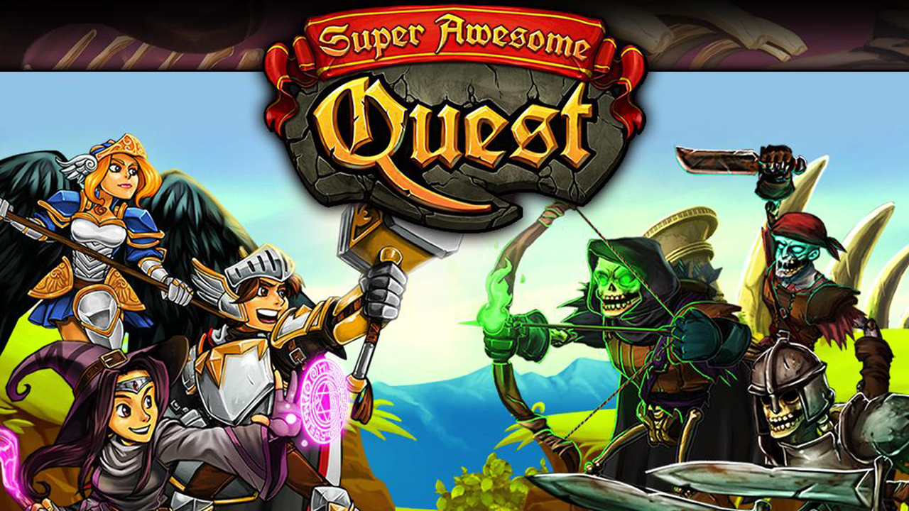 Super Awesome Quest Gameplay IOS / Android