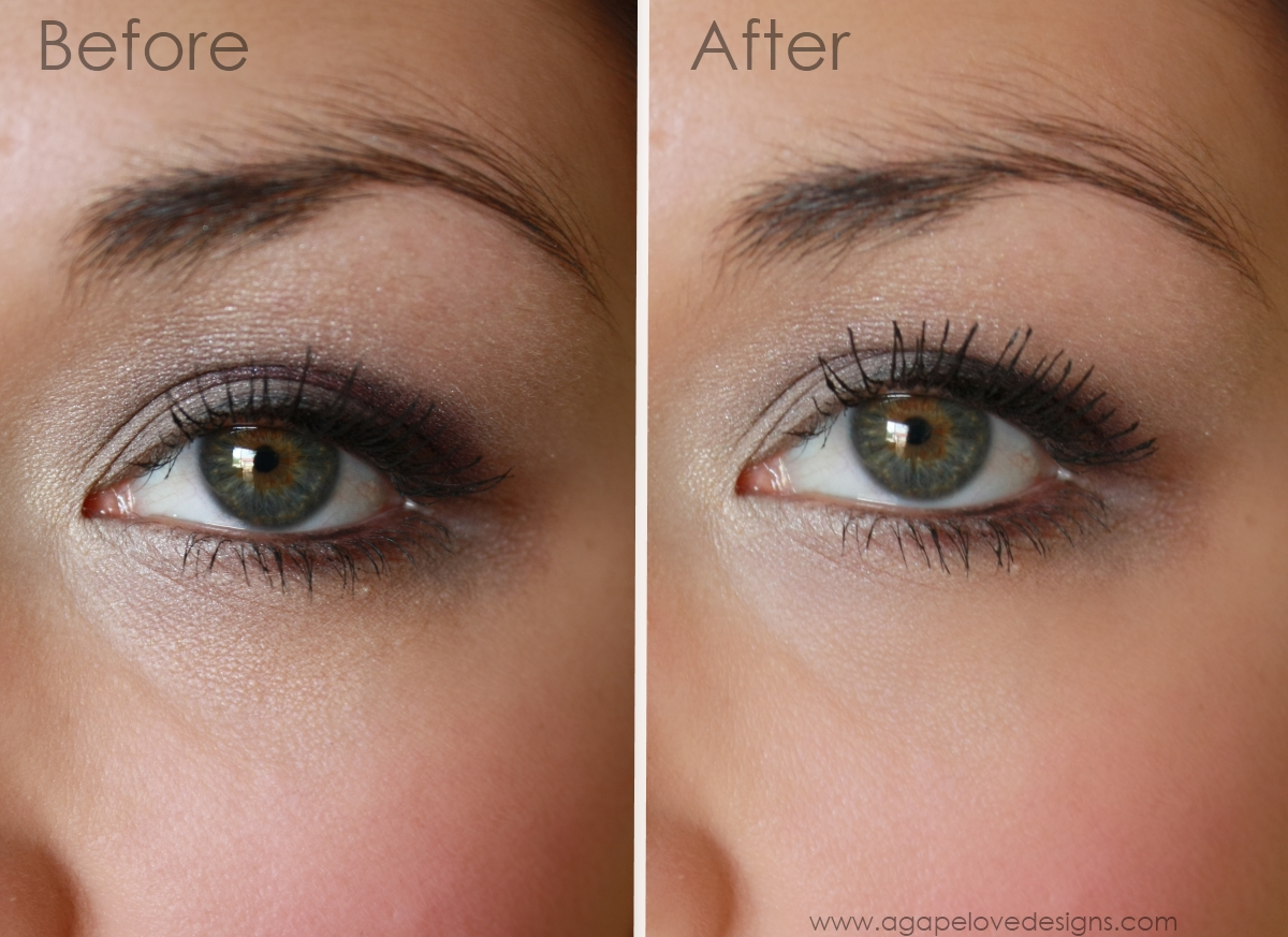 Agape Love Designs The Secret To Longer Lashes With Just Mascara
