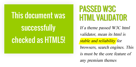 Passed W3C Validator - Maginess – Flexible Magazine WordPress Theme