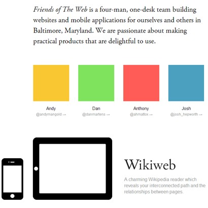 35 Website Layouts using Flat Design Techniques