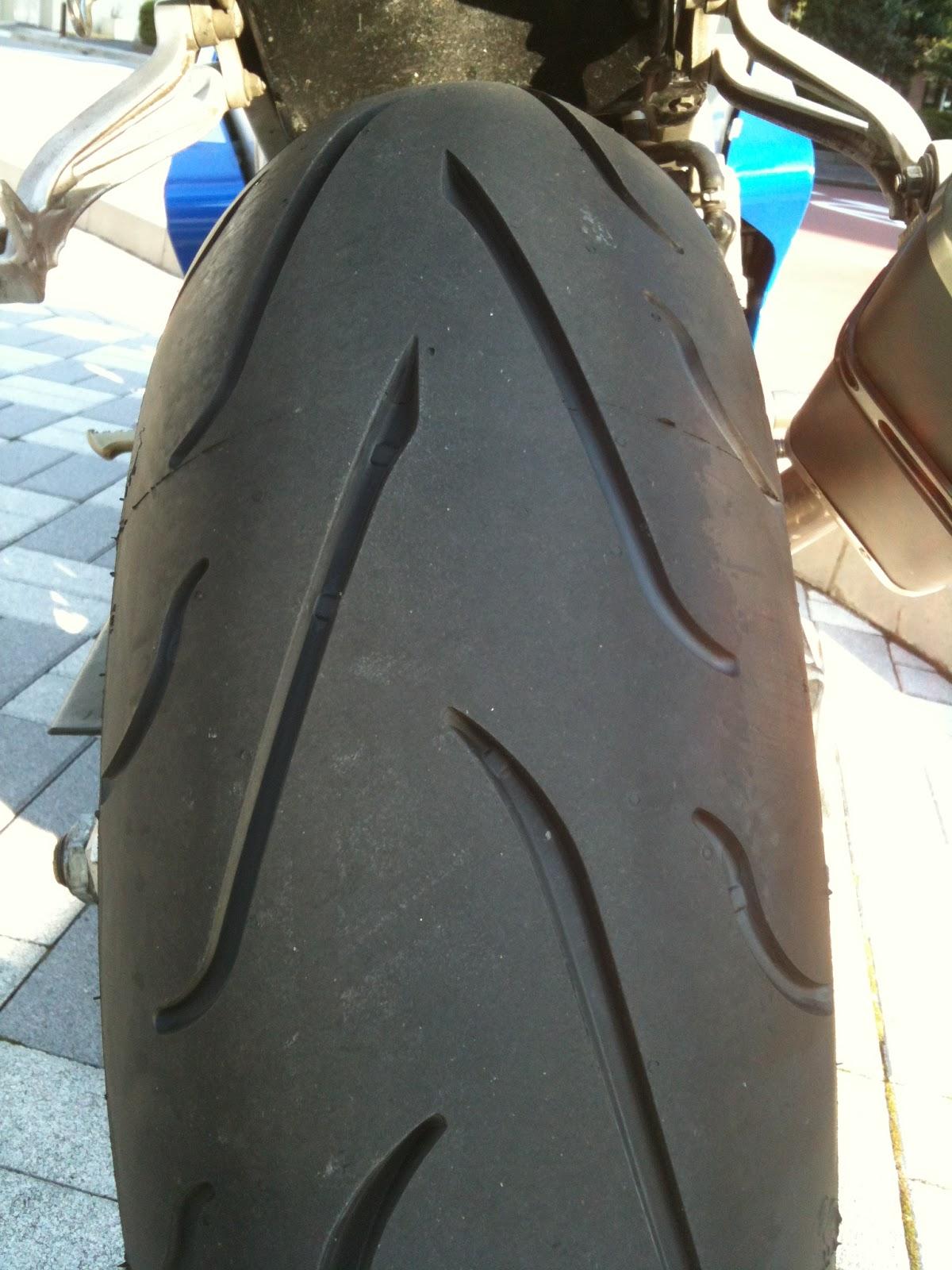 メッツラー スポルテック M3 リアタイヤ