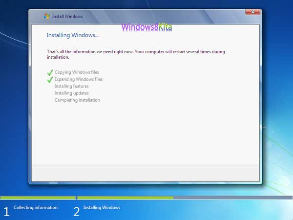 Panduan Cara Instal Windows 7 step 10
