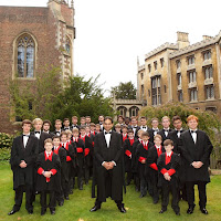 Andrew Nethsingha and the choir of St. John's College, Cambridge
