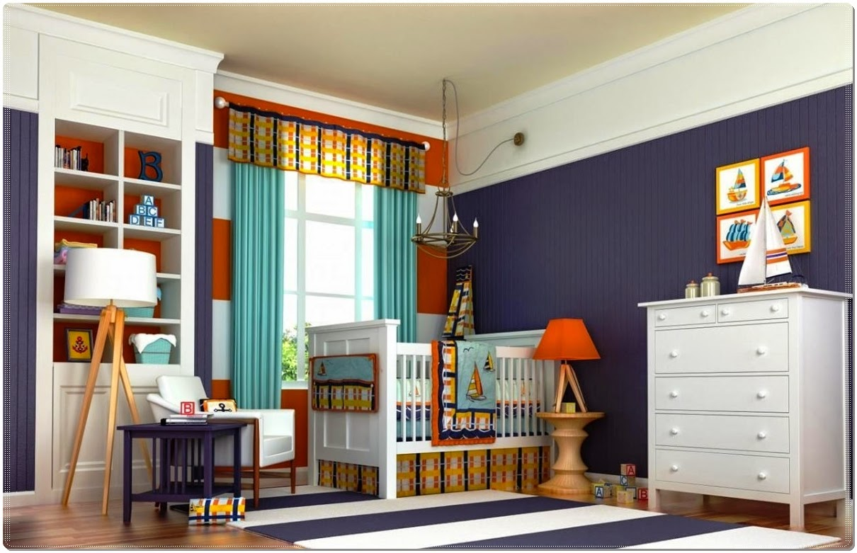 Kids Bedroom Chic Baby Boy