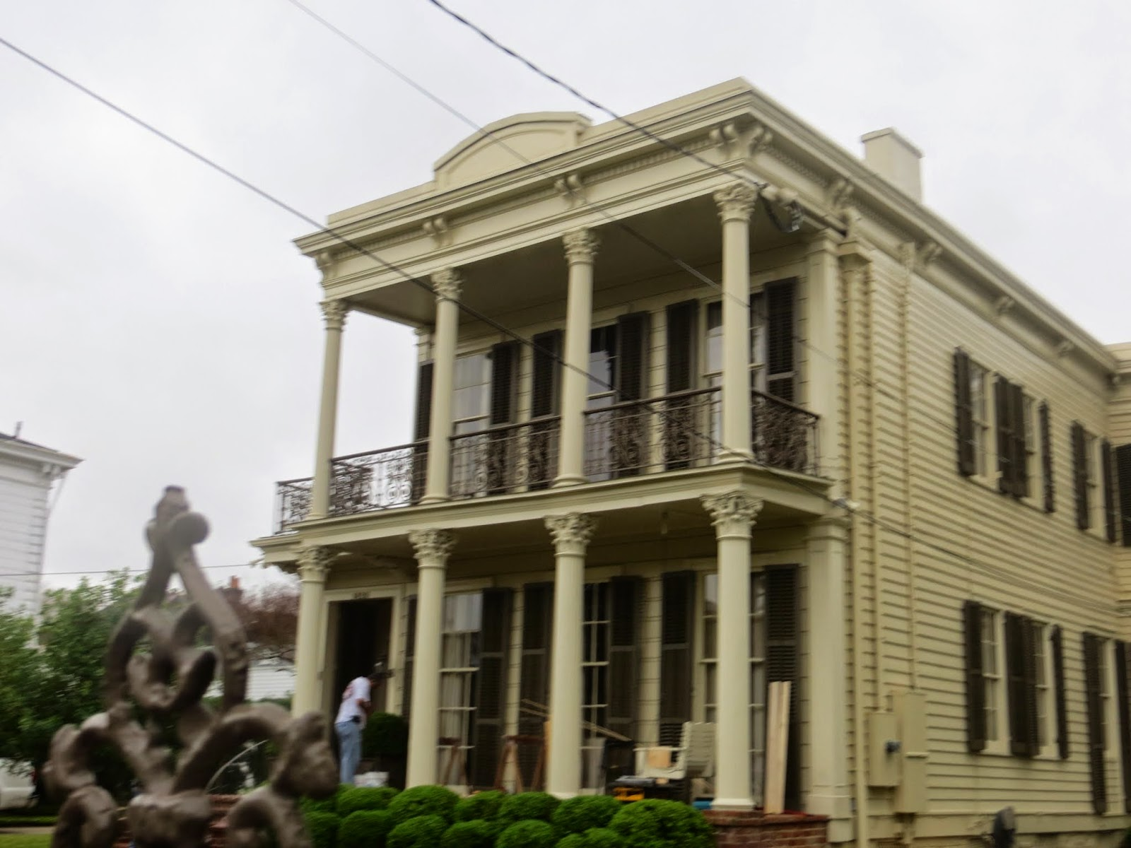 Tales From The Camping House: Seeing New Orleans and Eating Crawfish