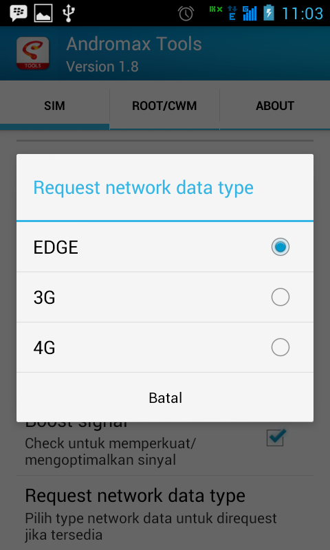 Cara Membuat SIM Card GSM Smartfren Andromax Sebagai Default Akses Data Internet 3