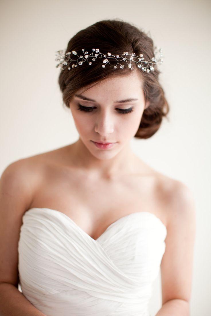 Как сделать украшения в прическу невесты