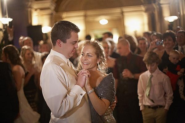 Aldrich Mansion: mother and groom