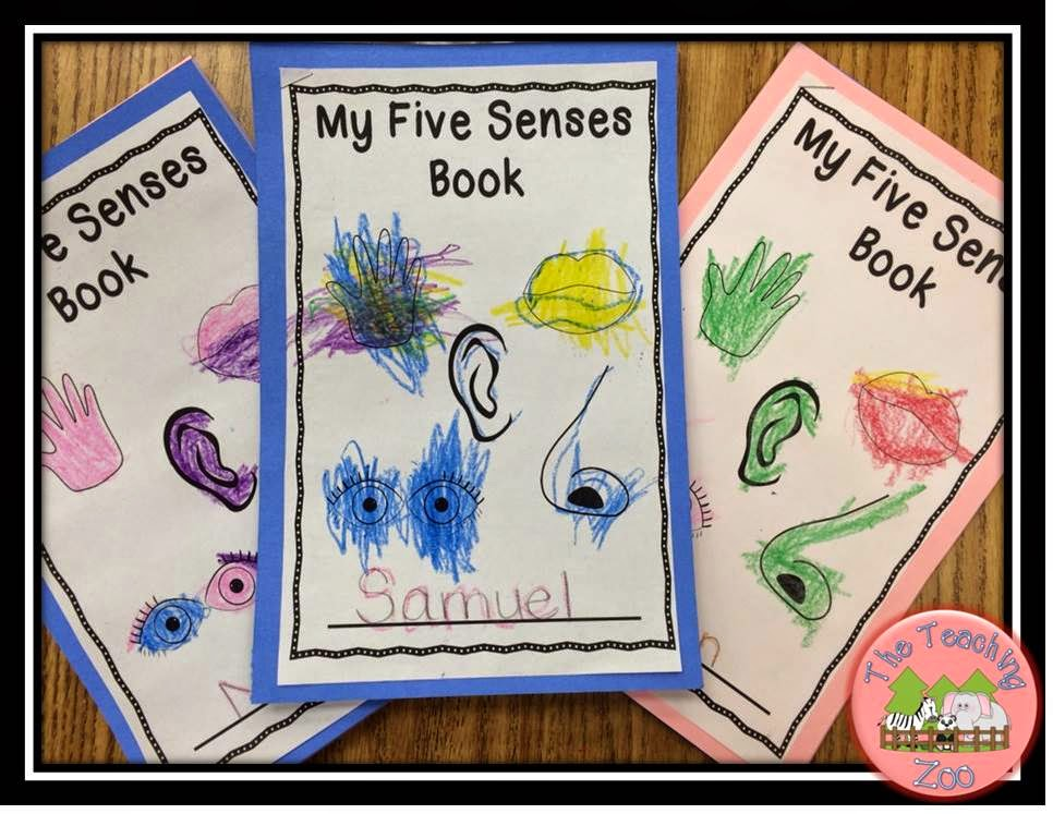 http://www.teacherspayteachers.com/Product/Five-Senses-Theme-Learning-Pack-1427118