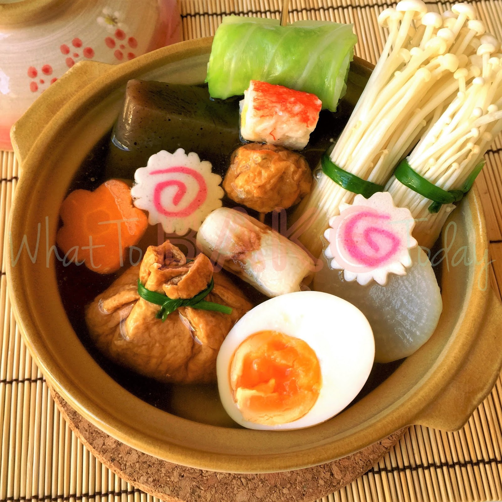 What To Bake Today: Oden (Japanese Hot Pot)