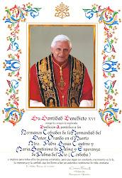 BENDICIÓN APOSTÓLICA DE SU SANTIDAD BENEDICTO XVI