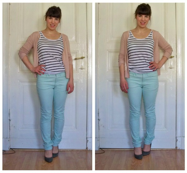 30 Kleidungsstücke für 30 Tage ergeben 30 verschiedene Outfits Tag 18