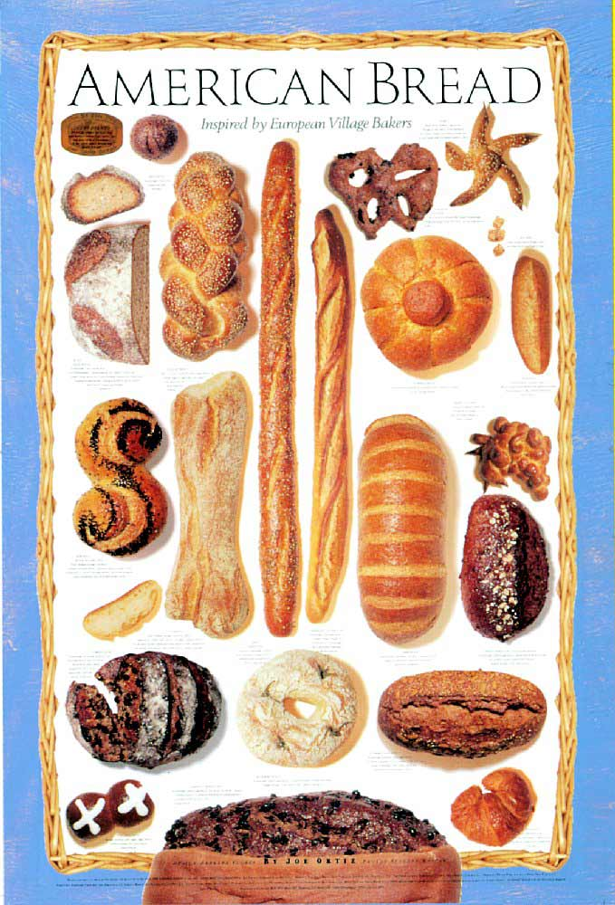 BREAD TYPES Sliced Bread
