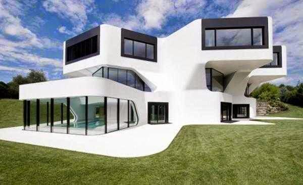 Gambar Rumah Futuristik