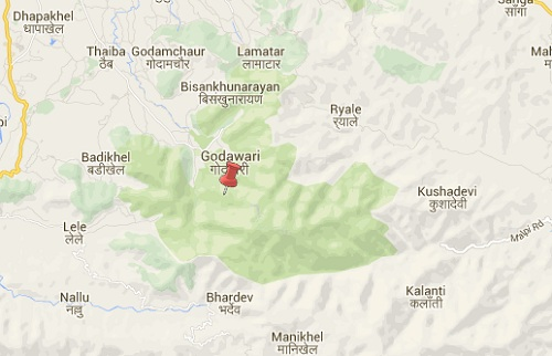 godawari_earthquake_epicenter_map