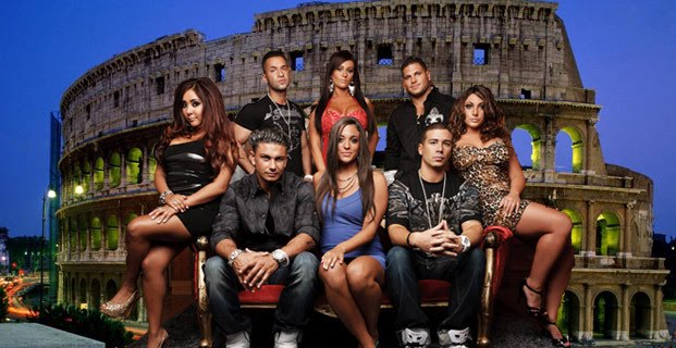 jersey shore in italy fight. jersey shore italy house.