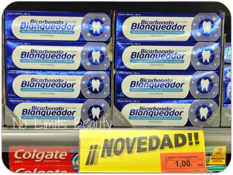 Crema dental Bicarbonato Blanqueador - Deliplús