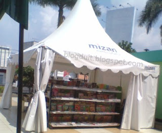 mizan bazar buku masjid agung