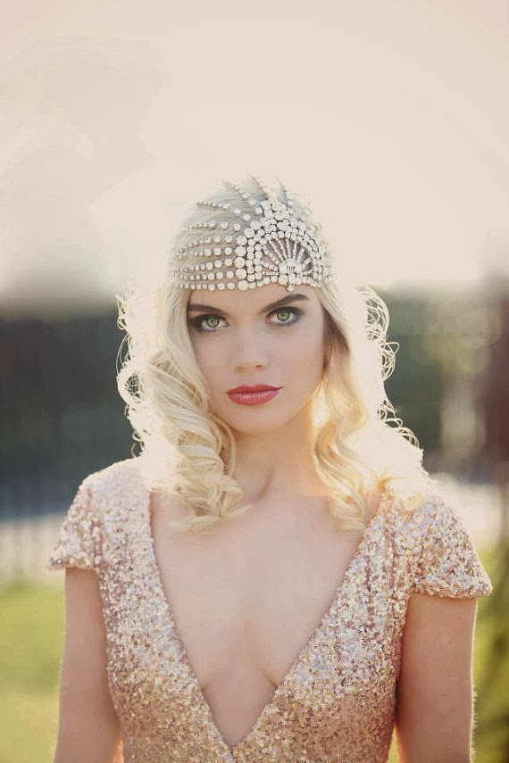 Roaring Twenties Hairstyles With Headbands 20's inspired hairstyles