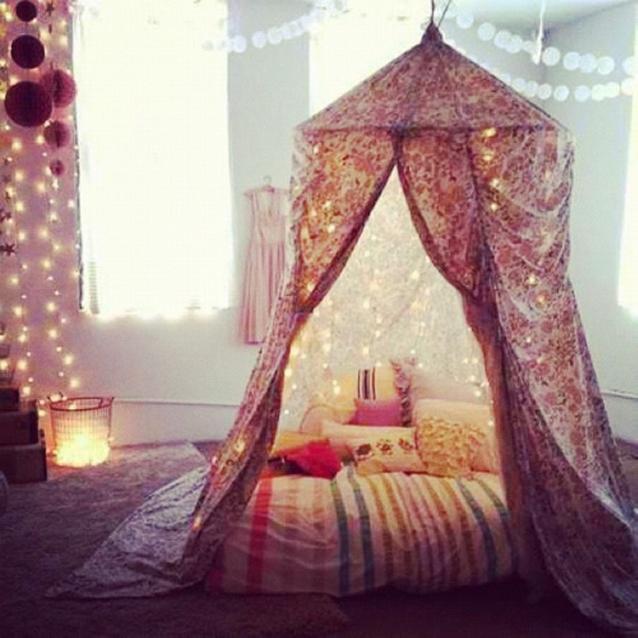 Tente bohemienne