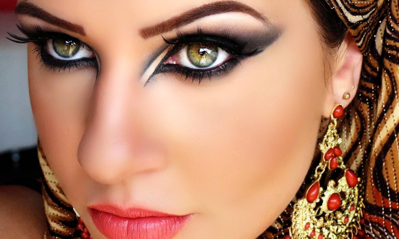 Famosos Blog da Ká Zibordi: Maquiagem Árabe - Arabic Makeup OT77