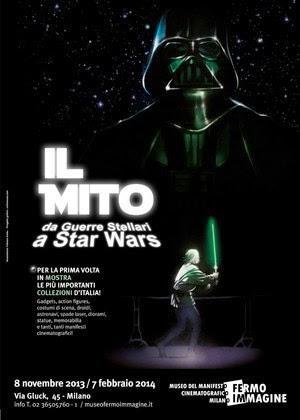 Mostra evento Star Wars al Museo Fermo Immagine di Milano fino al 7 febbraio 2014