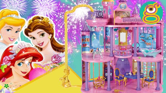 Castillo Dream de las Princesas Disney - Disney Princess Ultimate dream castle