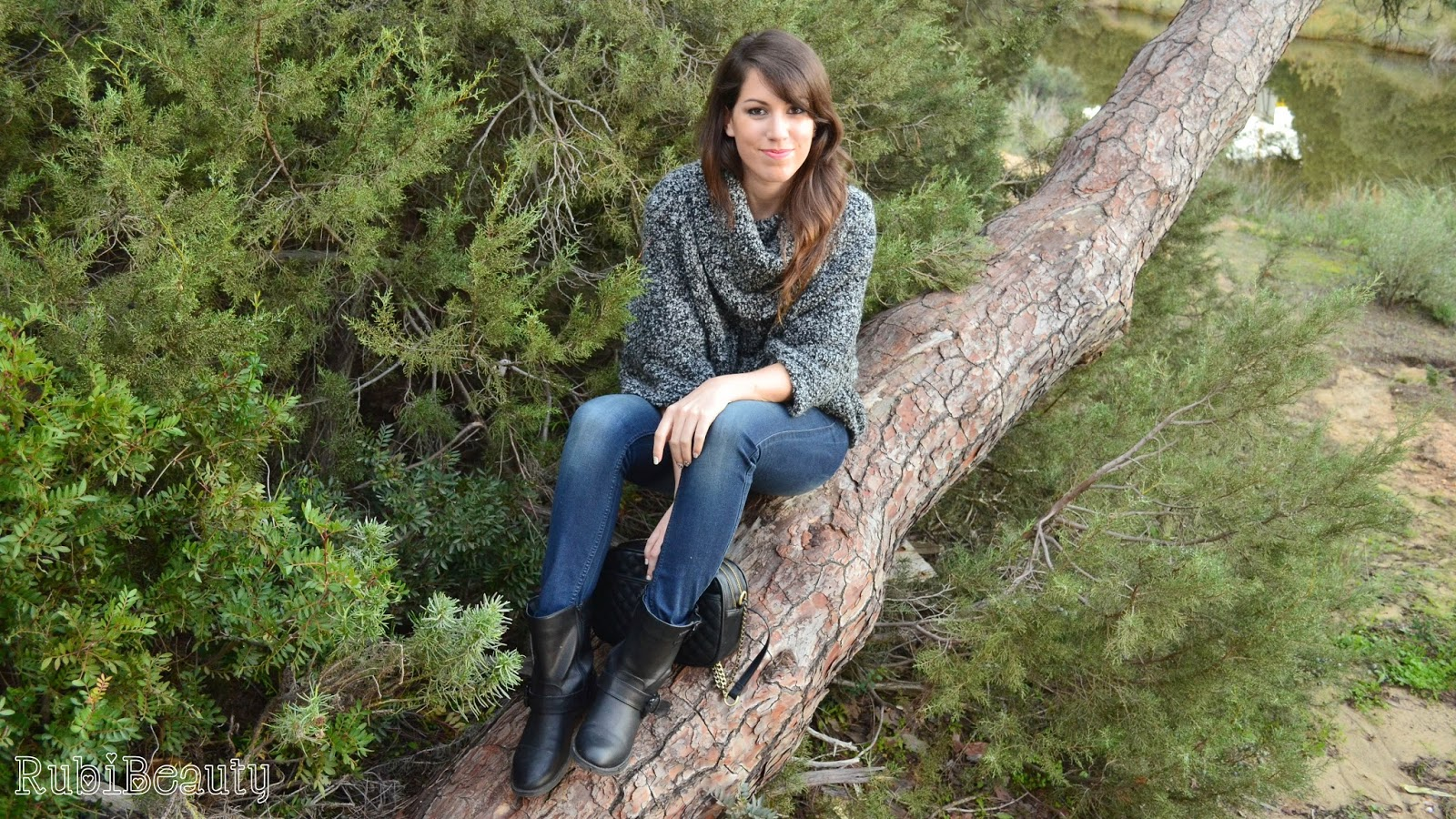 rubibeauty outfit ootd fashion stradivarius autum winter 2014 pull and bear
