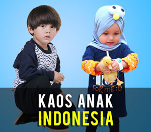 Kaos Anak Indonesia