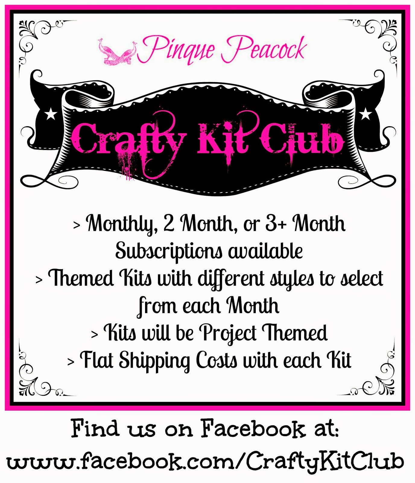 CRAFTY KIT CLUB