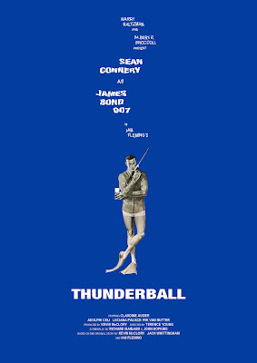- james bond 007 poster okokno Thunderball