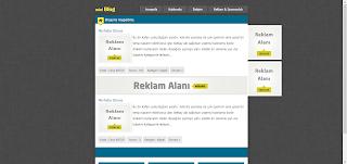 MiniBlog Blogger Teması