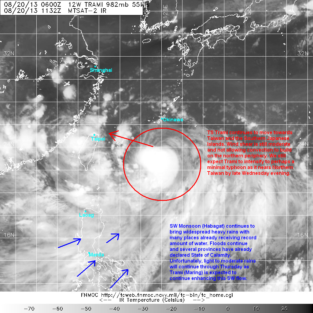 latest satellite image shows that the convection is still being impinged along the northern half of the circulation an indication that the wind shear is