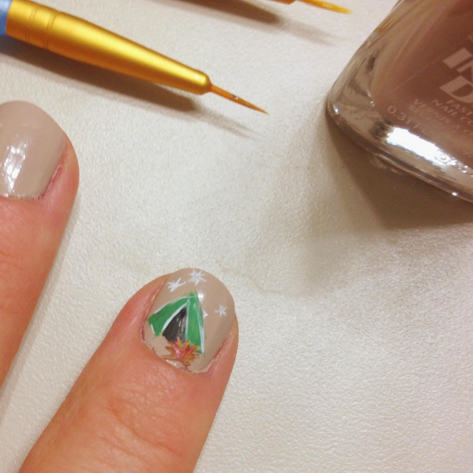 Belle Nail Art: All Things Belle: Impermanent Art