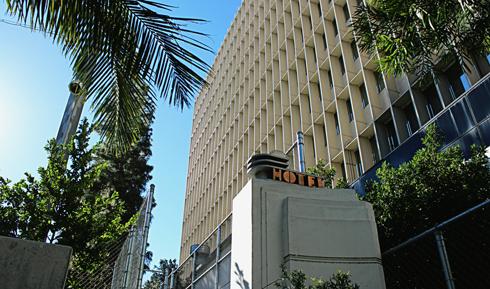 ambassador hotel location today los angeles