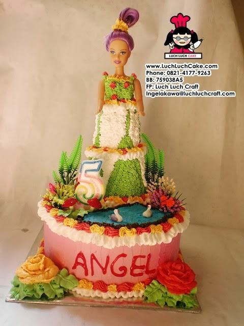 Kue Tart Barbie Ulang Tahun Daerah Surabaya - Sidoarjo