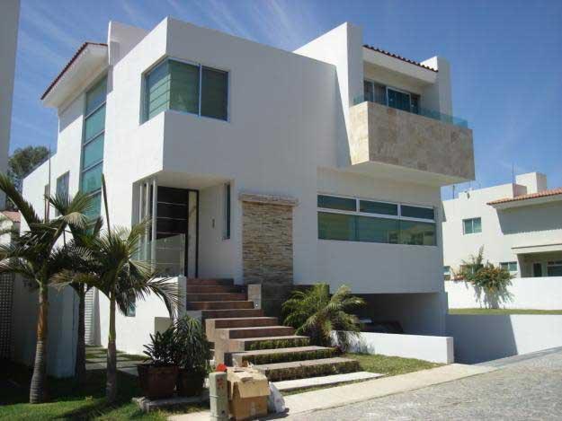 Fachadas de casas estilo minimalista proyectos de casas for Viviendas minimalistas