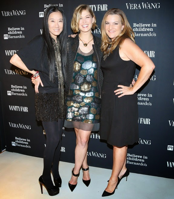 Vera Wang with Celebrities