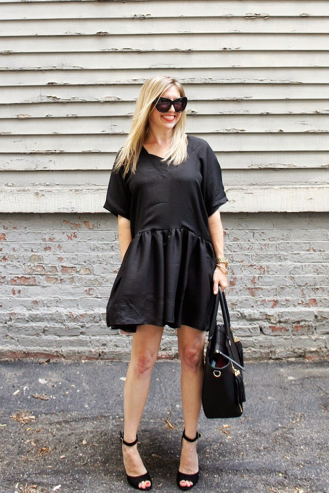 la fashion designers, jessica faulkner, black babydoll dress, amelie dress, penny shoemint
