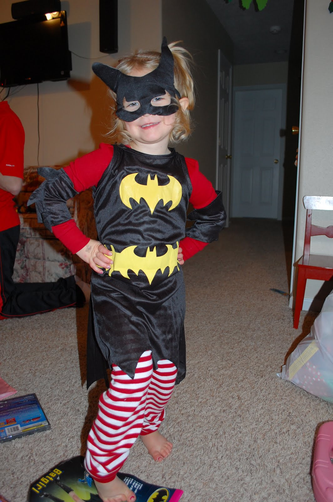 ... not Halloween ,Kora is just that much into dress up that she got a Super ...