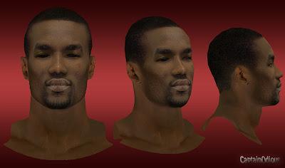 NBA 2K13 Serge Ibaka Cyberface Mod