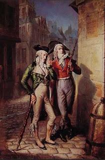 Incroyables. 1795. Louis-Alexandre Eustuche