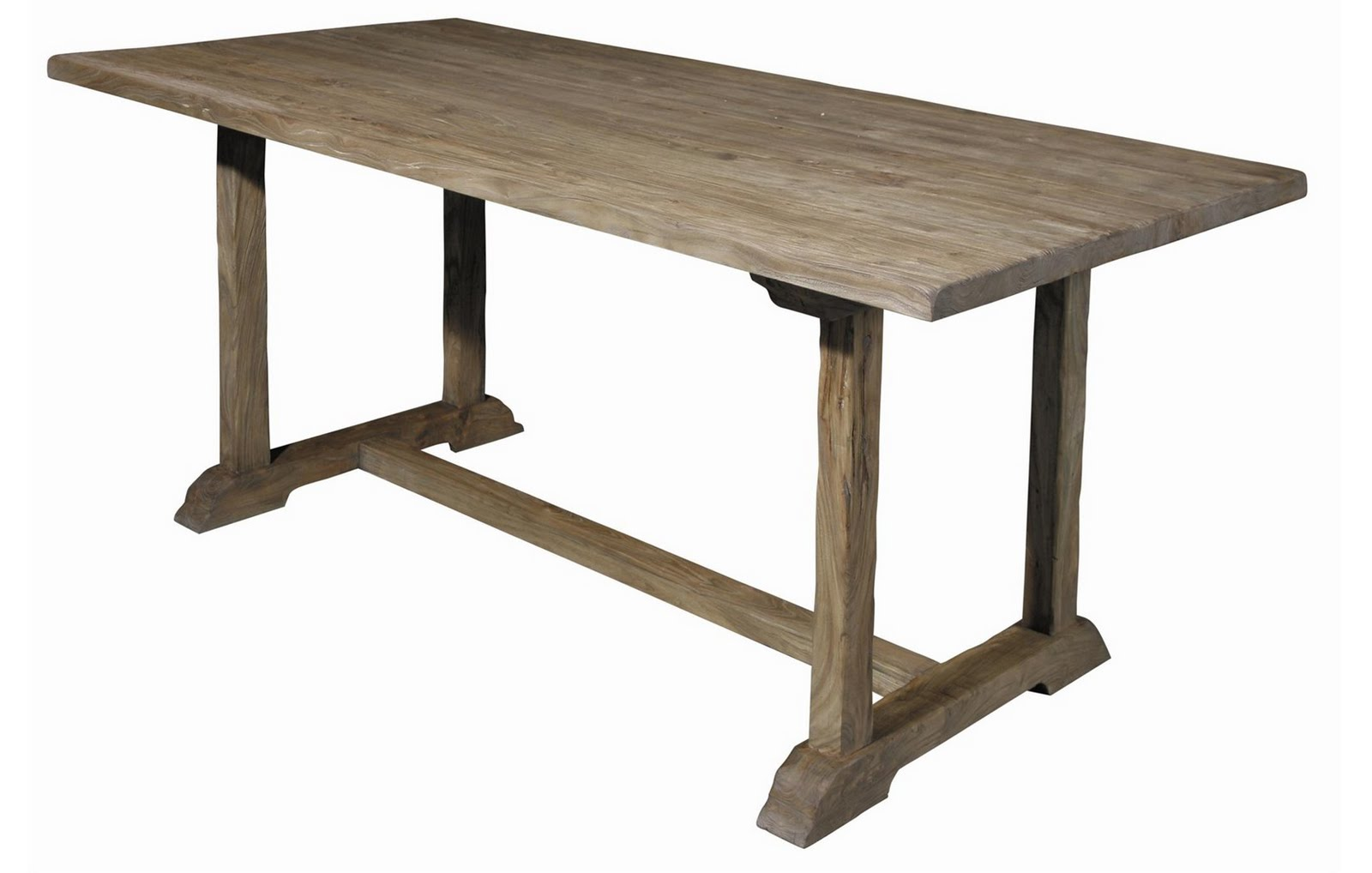 Baby green reclaimed wood dining tables for Furniture dining table