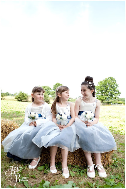flowergirls, blue flowergirls, whitley chapel, st helens church wedding, whitley chapel wedding, curly farmer, katie byram photographer, one digital image, northumberland wedding photographer, wedding wellies, wedding jewellery