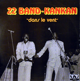 "22 Band-Kankan - ""dans le vent\"",Editions Syliphone Conakry, SLP 51, 1976"