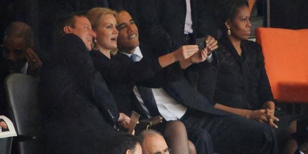 Foto Selfie Obama