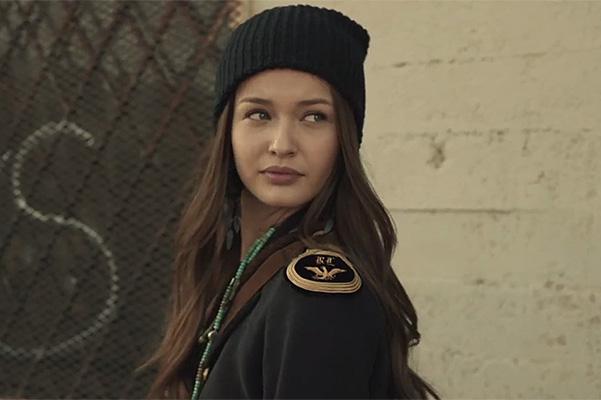 Kristina Romanova in the clip Avicii