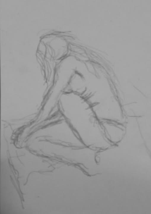 La sensualidad modelada desde el taller de dibujo