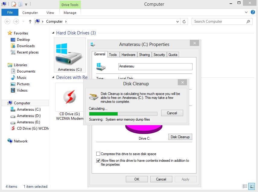 Mempercepat Kinerja Komputer Dengan Disk Cleanup 4