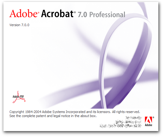 Download adobe acrobat professional 8.0 for free (Windows)